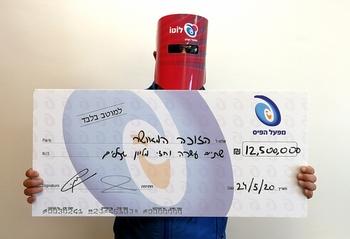 Выигравший 12,5 млн шекелей собирается помогать нуждающимся