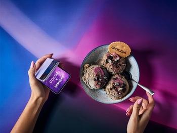 Сеть Golda представляет: космическое мороженое Galaxy Z