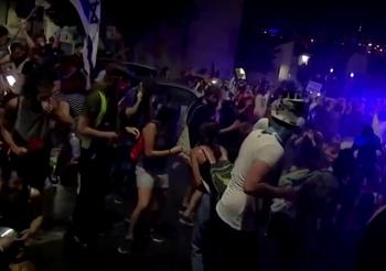 Кнессет ночью проголосовал поправку о запрете демонстраций во время строгого карантина