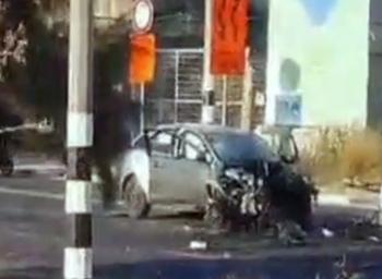 Хадера: мафиози взорвали бомбу в машине с двумя малолетними детьми