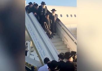 В Бен-Гурион прибыл раввин, выступающий за уничтожение Израиля
