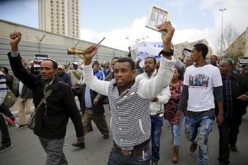 Убирайтесь из Ришона! Новые соседи поприветствовали «эфиопов»