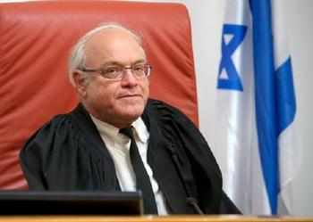 Судья БАГАЦ, выразивший соболезнования террористу, пошел на попятную