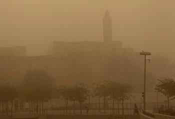 Израиль накроет мощная песчаная буря