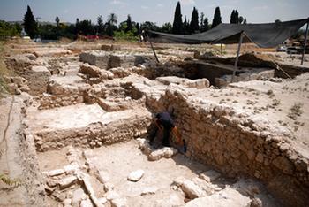 В Бейт-Шемеше нашли библейский храм с «Ковчегом Завета»