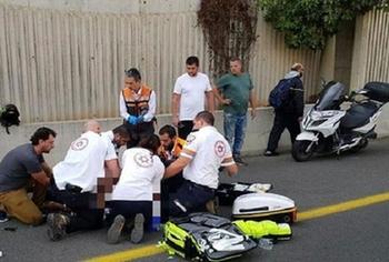 Пенсионер-наркоман задавил мотоциклиста у больницы «Вольфсон»
