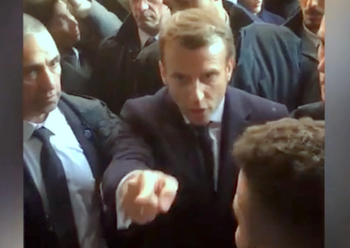 Президент Франции спровоцировал скандал в Иерусалиме