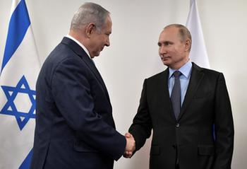 Нетаниягу обсудил с Путиным его визит в Израиль