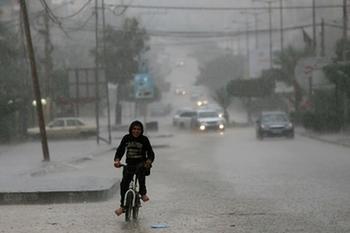 Прогноз погоды: похолодание и сильные дожди, в Иерусалиме ожидается снег