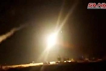 ВВС Израиля нанесли серию ударов в Сирии