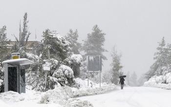 Прогноз погоды: синоптики сомневаются в сильном снегопаде в Иерусалиме