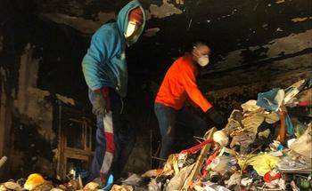 Синдром Плюшкина: из дома пенсионера в Тель-Авиве вывезли 23 контейнера с мусором