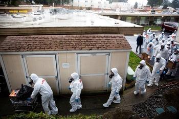 Холон: больной коронавирусом попытался сбежать из карантина в «Вольфсон»