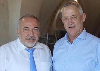 Либерман назвал Ганца «политическим трупом»