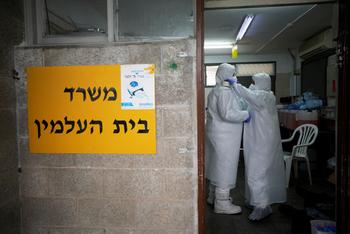 COVID-19 в Израиле на 6 апреля: заразились 8.430, 579 новых больных, 49 умерших
