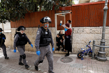Арабы в Яффо напали на полицию из-за проверок коронавируса