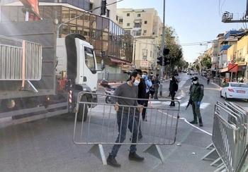 Убирайтесь из города! Житель Бейт-Шемеша плюнул в полицейских и обругал их «нацистами»