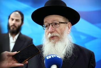 Глава Минздрава Израиля выздоравливает от коронавируса