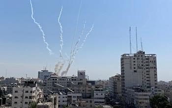 Обстрел Сдот Негев: ракеты из Газы упала на открытой местности