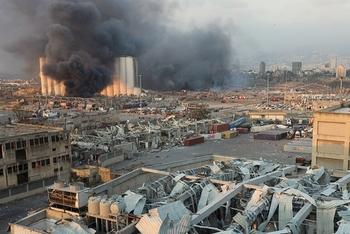 Половину Бейрута разрушил взрыв селитры обанкротившегося российского бизнесмена