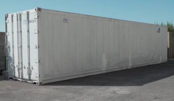 Похоронная компания Израиля приобрела гигантский контейнер для складирования тел умерших от COVID-19