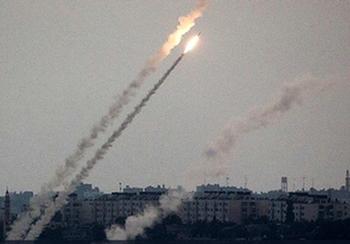 Ракетный обстрел Ашкелона: «Железный купол» уничтожил ракету над городом