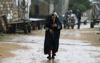 В Иерусалиме прошел осенний дождь; в конце недели – снова жара