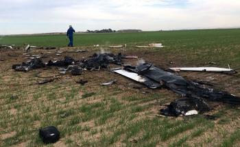 Легкомоторный самолета упал в Негеве: два человека погибли