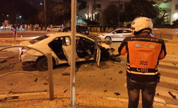 Пострадавший выжил после мощного взрыва в машине в Ришон ле-Ционе