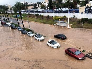 Сильные дожди привели к наводнению в Нагарии