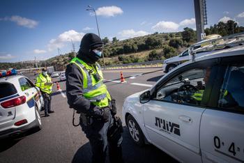 Бедуин сбил полицейскую на выезде из Хайфы, полиция застрелила пассажира