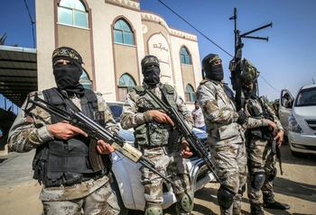 Боевики из Газы произвели ракетный обстрел Израиля