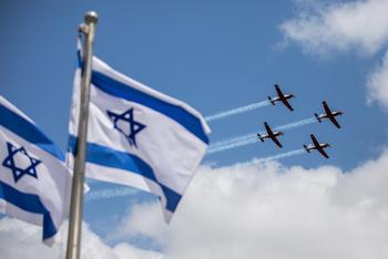 Парад ВВС Израиля в День независимости пройдет по всему Израилю. Расписание