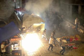 Арабские беспорядки в Старом городе: полиция применила водометы и вакуумные гранаты