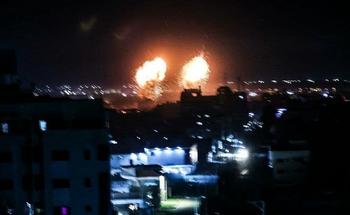 ВВС Израиля нанесли не менее 10 ударов по территории Газы