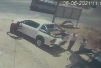 Араб угнал машину в присутствии 4-х израильтян в окрестностях Ариэля