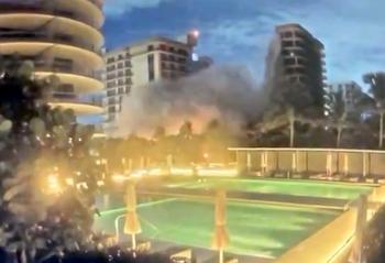 Обрушение дома в еврейском районеМайами: 99 человек числятся пропавшими без вести