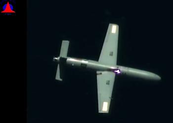 Уникальные кадры: боевой израильской лазер уничтожил беспилотник