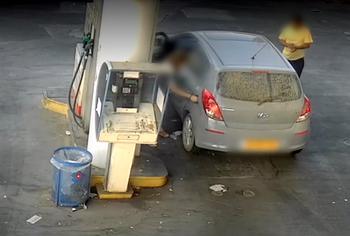 Десятки краж на заправках Тель-Авива: полиция призвала водителей к осторожности