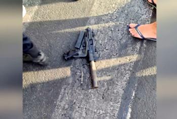 Араб с автоматом угрожал расстрелять людей на набережной Тель-Авива