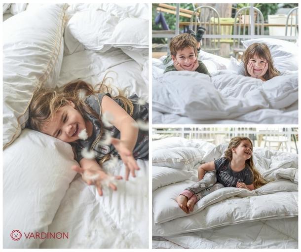 Vardinon: скидки на пуховые одеяла